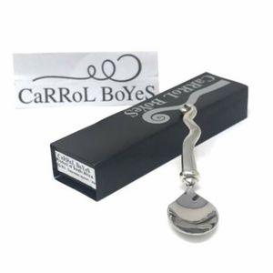 Carrol Boyes Espresso Spoon Wave Functional Art